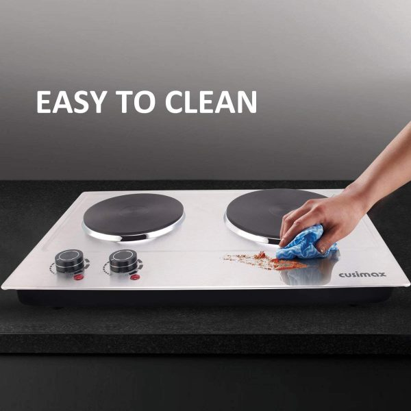 double plate Electric Burner 1800W