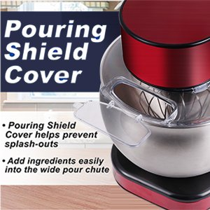 pouring shield cover