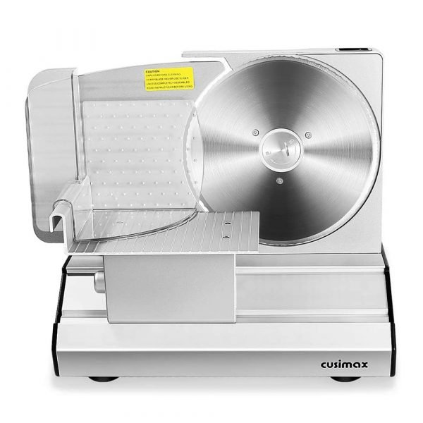"8.7"" Sliver Meat Slicer with Stainless Steel Blade"
