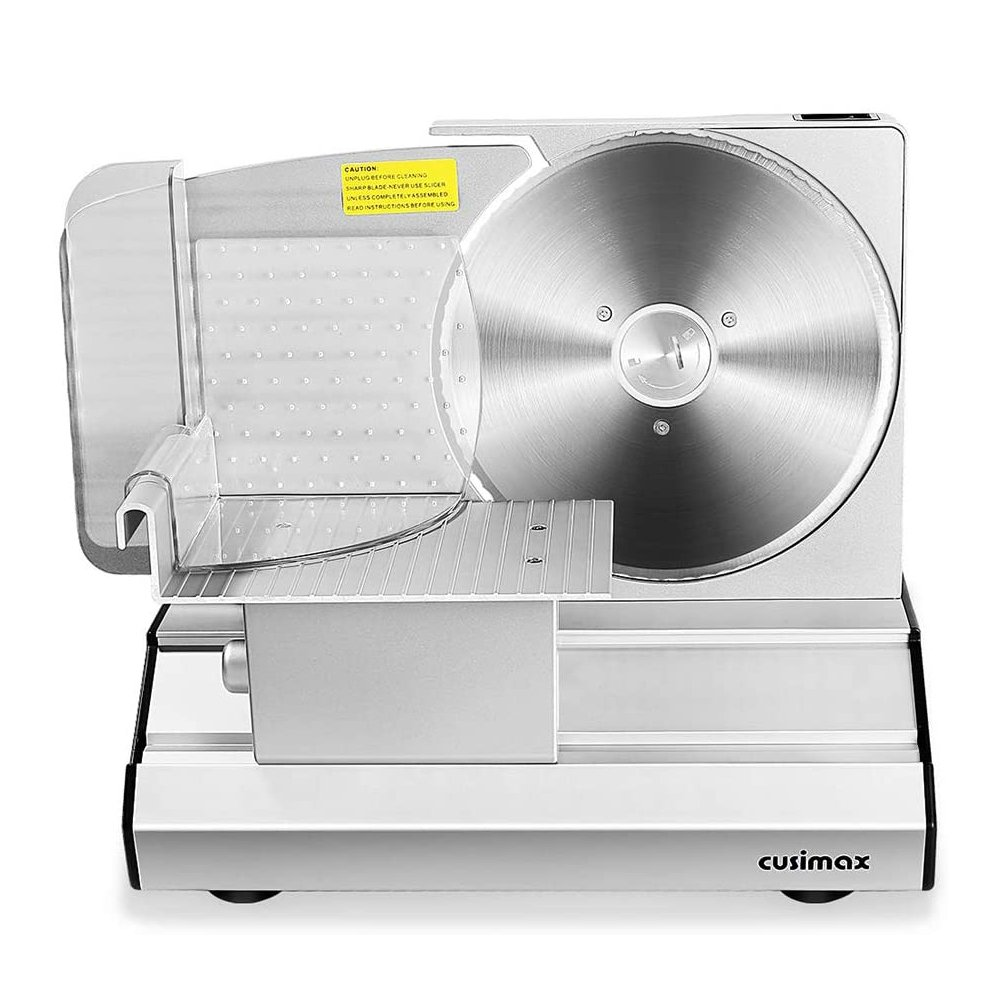 """8.7"""" Sliver Meat Slicer with Stainless Steel Blade"""