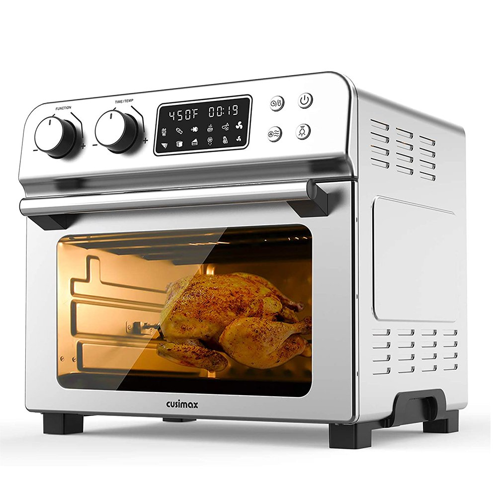 Toaster Oven, 12-in-1 Air Fryer + Air Fryer