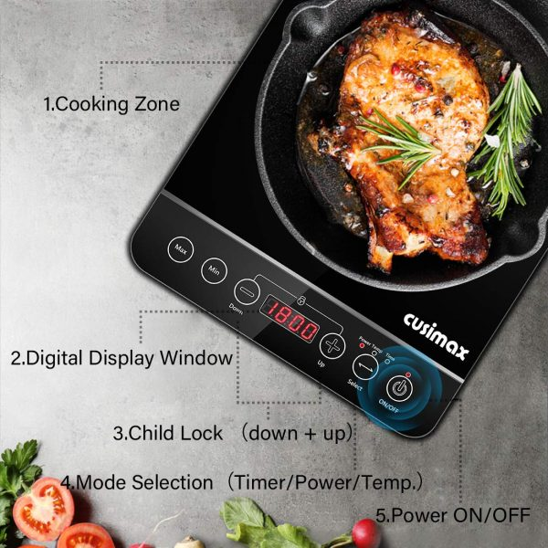 1800w Induction Cooktop single burner