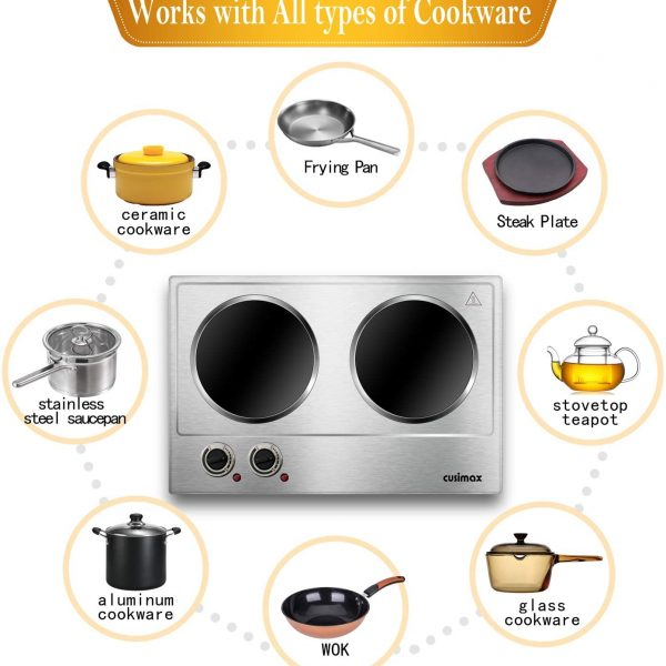 CUSIMAX Hot Plate for Cooking