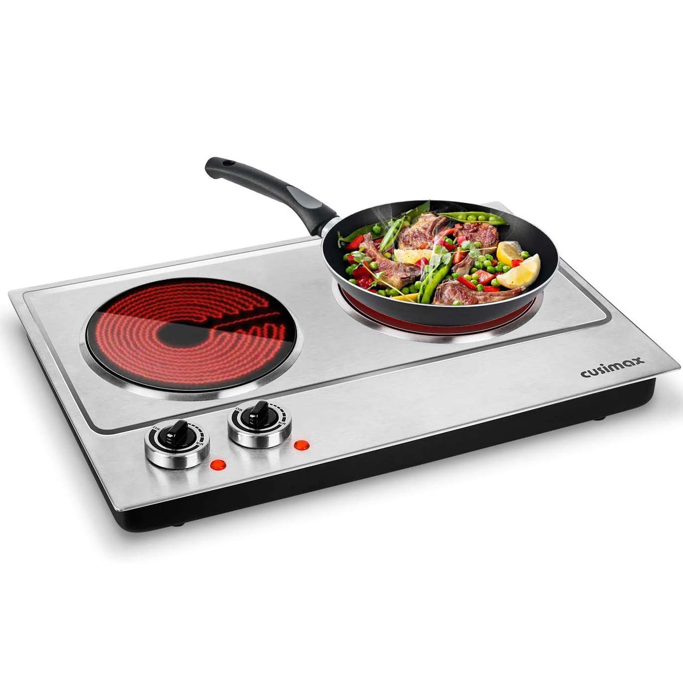 SKU 01 Infrared Double Hot Plates